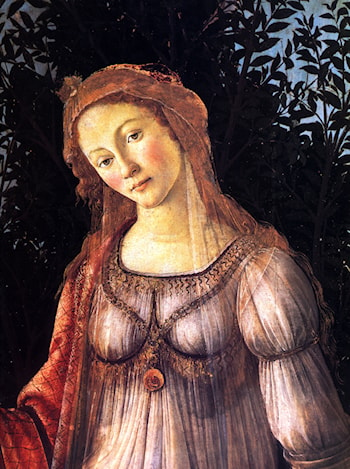 La Primavera [detail] by Sandro Botticelli